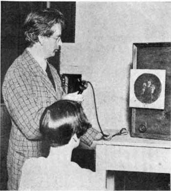 Una de las primaras retransmisiones de Baird, Wikipedia.org