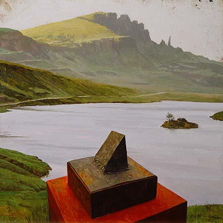 """Caja de Viajes con la Isla de Arriaza. Skye 3"" - Roberto González Fernández"