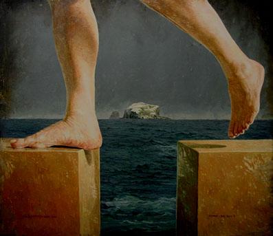 """""""ARRIAZA - BASS ROCK VI"""", 2001 - Roberto González Fernandez"""