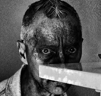 """EUROPEO de cultura occidental 09"". 2014. Autorretrato - Roberto González Fernández"