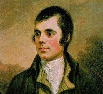 Escritor escocés Robert Burns - wikimedia.org