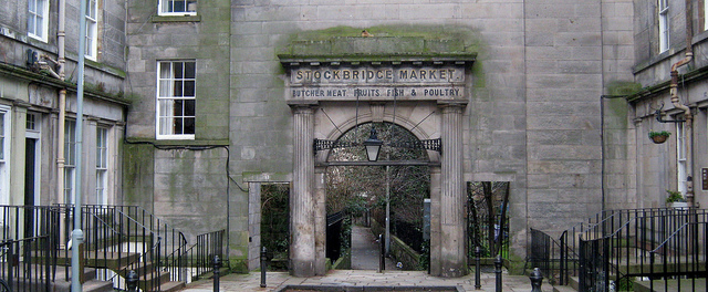 Puerta de Stockbridge y su mercado
