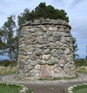 Monumento nel campo di battaglia di Culloden