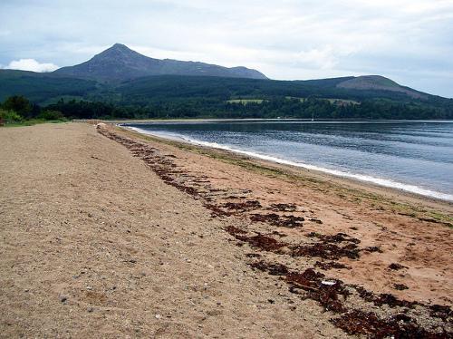 Bahía de Brodick en la Isla de Arran.