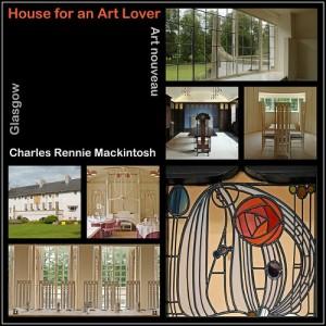 Casa para el amante del Arte diseñada por mackintosh