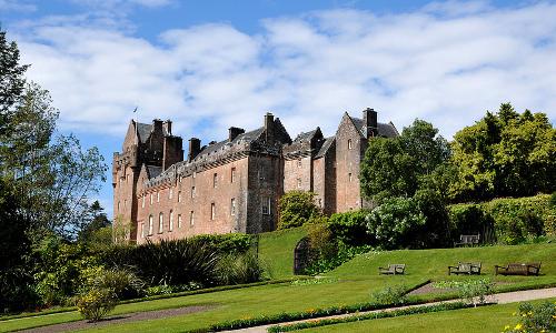 El Castillo de Brodick en la Isla de Arran.