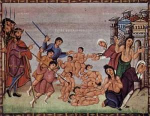 Caza de Herodes a los niños de 2 años - wikimedia.org