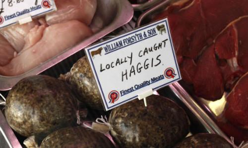 Haggis William Forsyth & Son - Carnicería traditional familiar in Dumfries & Galloway.