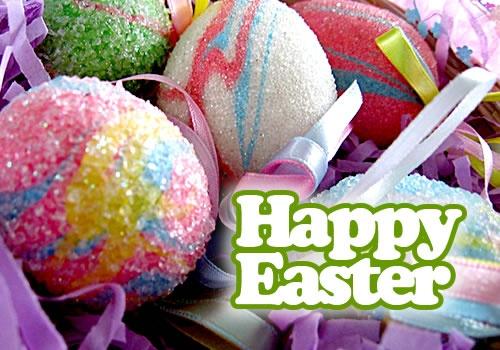 huevos Feliz Semana Santa.