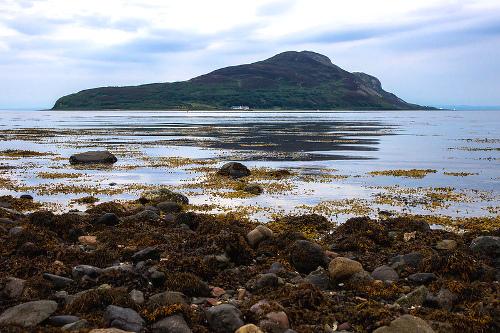 La Isla de Arran desde la bahí de lamlash