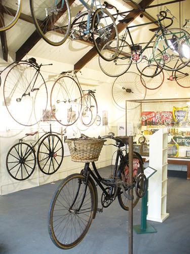 Museo de la bicilceta en el castillo de Drumlanrig