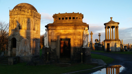 La necrópolis de glasgow, cementerio victoriano