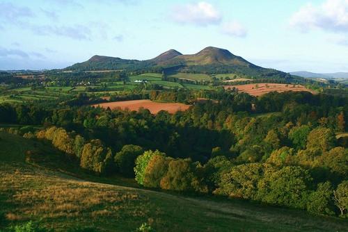 Vistas de Eildon Hill