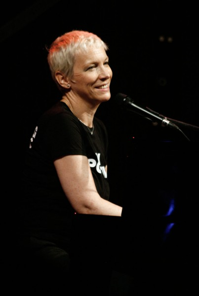 Annie Lennox (SING campaign, Vienna 2010)
