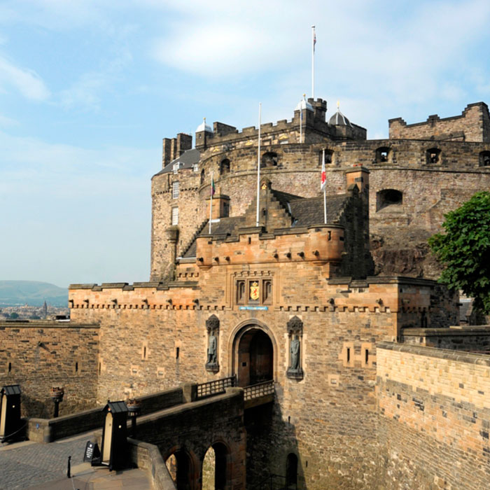 Tour castillo de Edimburgo