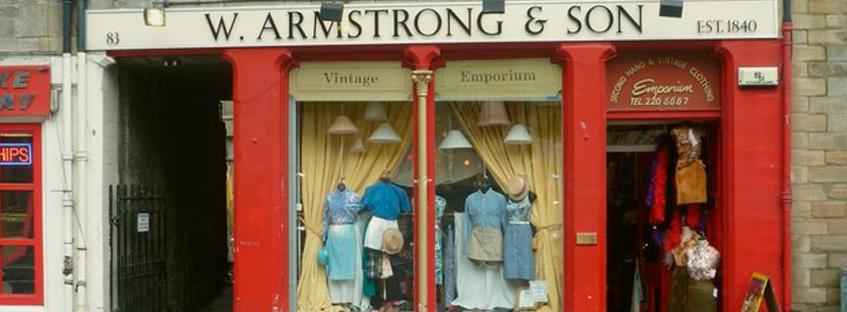 Tienda Armstrong en Grassmarket