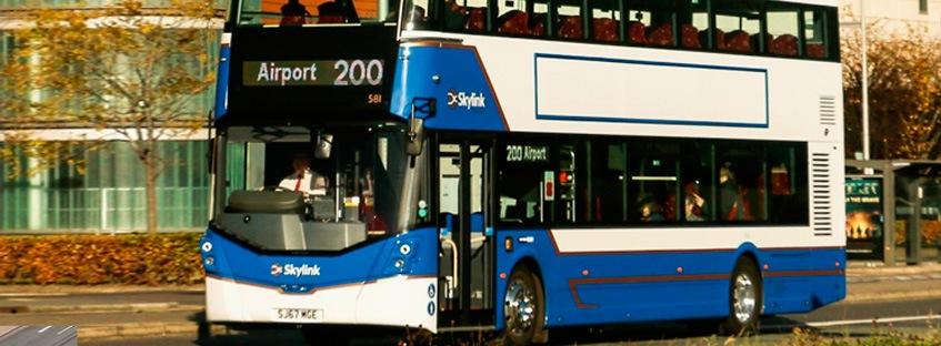 Bus para desplazarse desde el aeropuerto