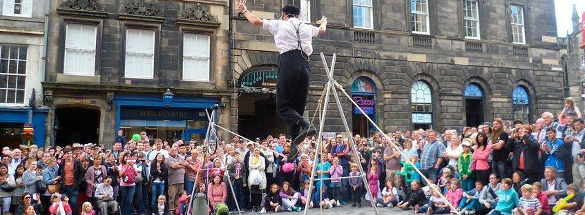 Festival en Edimburgo