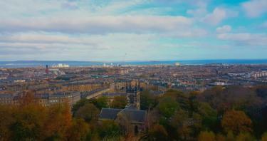 El tiempo en Edimburgo, el clima en Escocia