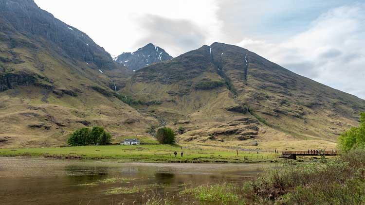 Parada en las Highlands durante la excursión del lago Ness