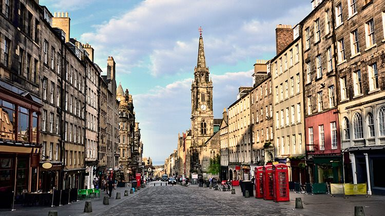 La Royal Mile de Edimburgo