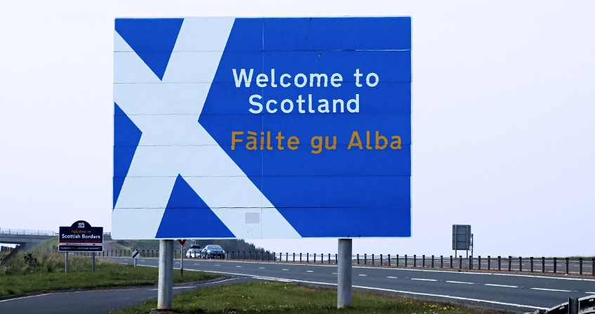 Welcom to Scotland Señal